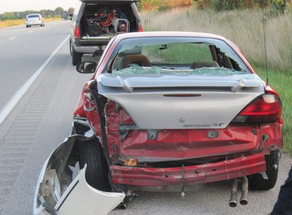 accident pic 1 provided by Vigo County Sheriff