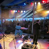 Davina & the Vagabonds got everybody dancing at the Big Bull Falls Blues Fest! Great weather, big crowd and the blues..