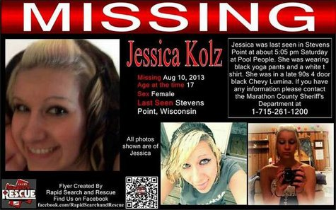 Jessica Kolz poster, by Rapid Search and Rescue