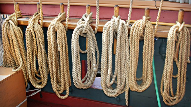 The best kind of O.C.D. to have... Ropes!