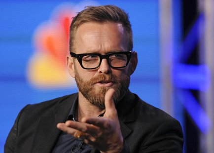 "Trainer Bob Harper takes part in a panel discussion of NBC Universal's show ""The Biggest Loser"" during the 2013 Winter Press Tour for the Te"