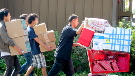 Move in day this Friday at USD (USCD.edu)