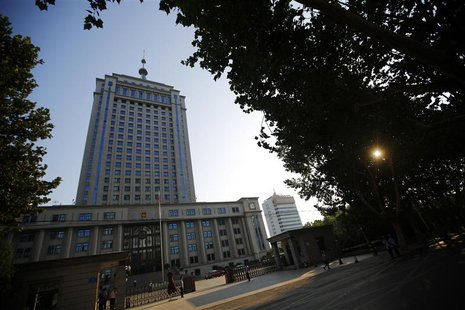 The Jinan Intermediate People's Court building, where the trial of disgraced Chinese politician Bo Xilai will be held is seen in Jinan, Shan