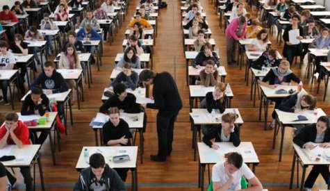 Students taking a standardized test (Reuters)