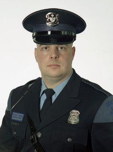 Michigan State Police Motor Carrier Officer Dennis Myers
