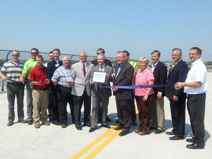 The Sioux Falls Public Works Administration announced the Solberg Avenue Overpass in southwestern Sioux Falls is open (SD.SF.gov)