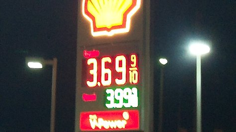 Gas prices going up as summer begins to wind down