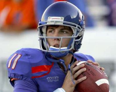 Detroit Lions QB Kellen Moore during his collegiate days at Boise State REUTERS/Brian Losness