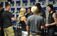 Saliva in the Rock 94.7 Basement 12