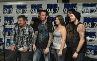 Saliva in the Rock 94.7 Basement 8