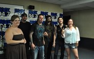 Saliva in the Rock 94.7 Basement 6