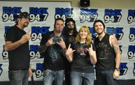 Saliva in the Rock 94.7 Basement 1