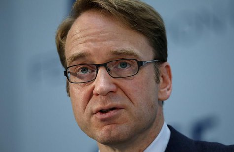 Bundesbank chief Jens Weidmann gives a keynote speech at the Federation of European Securities Exchanges (FESE) convention in Berlin June 27