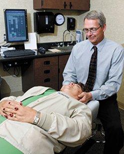 Chiropractor David Eggers (SDSU.edu)