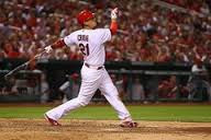 Allen Craig hits a grand slam in the bottom of the 7th inning in last nights 8-6 win over the Cincinnati Reds.