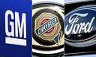 The Big Three:  General Motors, Chrysler, and Ford
