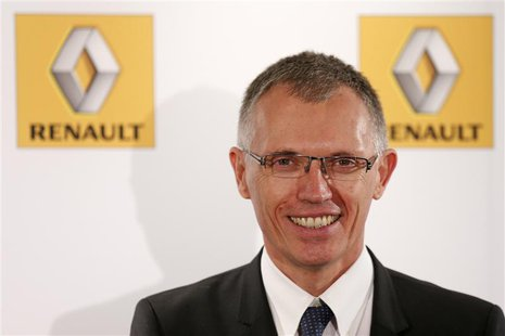 Renault Chief Operating Officer Carlos Tavares poses after the company's First-Half 2013 results presentation in Boulogne-Billancourt, near