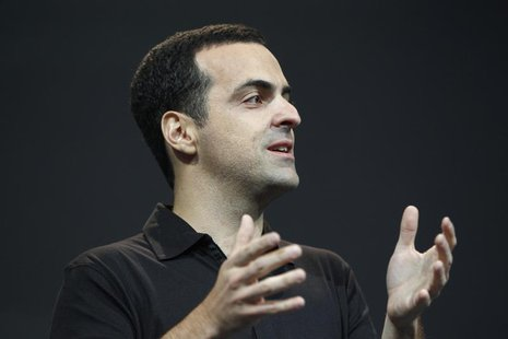 Hugo Barra, director of product management of Google, speaks during Google I/O 2012 Conference at Moscone Center in San Francisco, Californi
