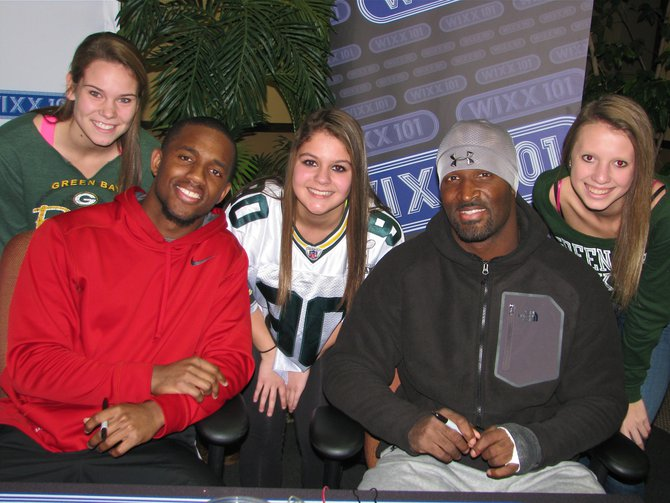 Casey Hayward and James Jones