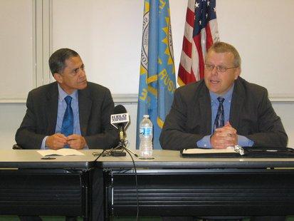 FHWA Administrator Victor Mendez and SDDOT Secretary Darin Berquist KELO AM