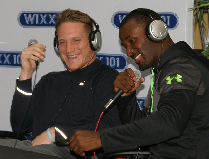 A.J. Hawk and James Jones