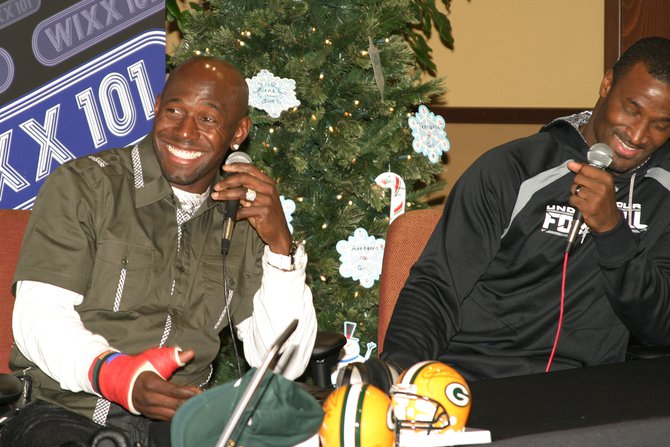Donald Driver and James Jones