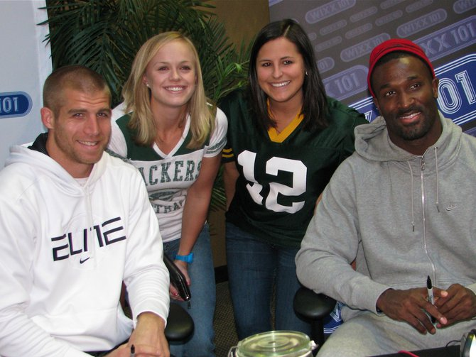 Jordy Nelson and James Jones
