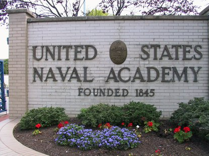 A female midshipman faces cross-examination on Thursday by lawyers for three former U.S. Naval Academy football players accused of raping her in 2012. (Navy.mil)