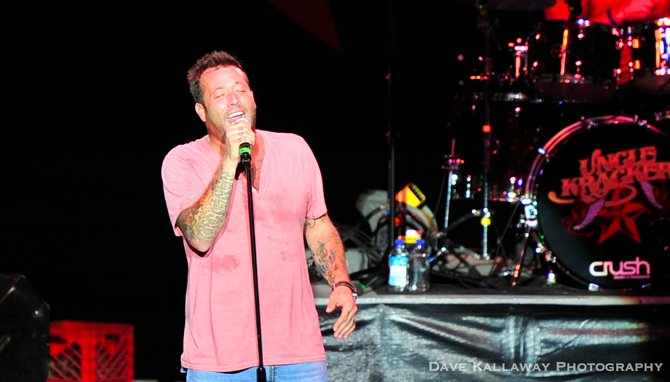 "Hits like ""Smile"" ""Follow Me"" ""Drift Away"" and the song he co-wrote with Kid Rock ""All Summer Long""..Uncle Kracker brought it !!!"