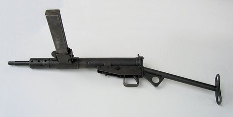 Wikipedia says that over 4-million Sten Guns were manufactured during the 1940's and distributed to insurgent groups and resistance groups because they were easy to ship and simple to maintain.