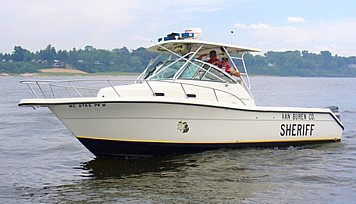 This is the Van Buren County Marine Patrol but almost every County in Michigan has one of their own.