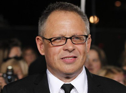"Director of the movie Bill Condon poses at the premiere of ""The Twilight Saga: Breaking Dawn - Part 2"" in Los Angeles, California in this No"