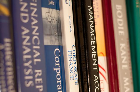 Textbooks (Photo by: John Liu/Flickr/Creative Commons).