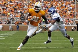 Da'Rick Rogers while playing for Tennessee.