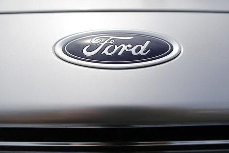 New Ford vehicles occupy the lot at Koons Ford dealership in Fairfax, Virginia, July 24, 2013. REUTERS/Jonathan Ernst