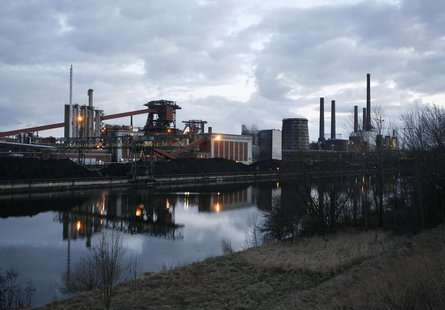 General view of a factory of Salzgitter Flachstahl GmbH, a company of steel manufacturer Salzgitter AG in Salzgitter March 11, 2009. REUTERS