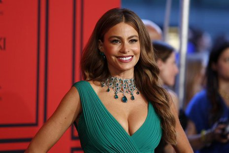 Actress Sofia Vergara arrives to attend the 2013 Council of Fashion Designers of America (CFDA) awards in New York June 3, 2013. REUTERS/Luc
