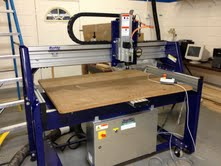A CNC Router that will be used by Elkhart Lake-Glenbeulah school district students.