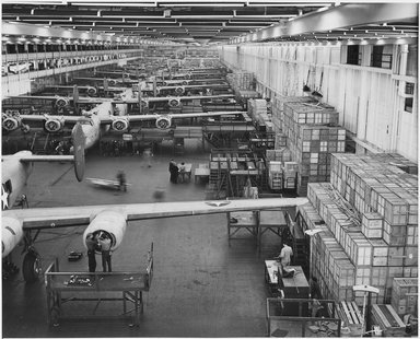 The Willow Run plant when it was in operation.