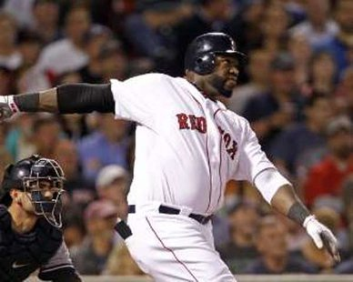 Boston Red Sox designated hitter David Ortiz REUTERS/Adam Hunger