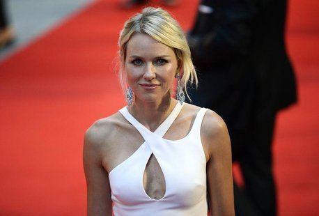 "Cast member Naomi Watts of Australia, who plays the title role, arrives for the world premiere of ""Diana"" at Leicester Square in London, Sep"