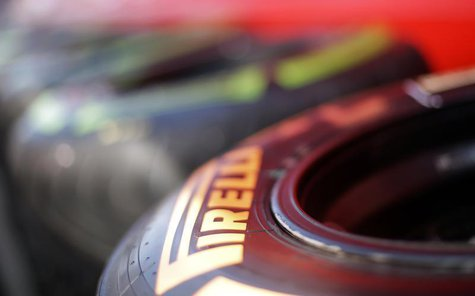 Pirelli tyres are seen at the Formula One racetrack in Monza September 5, 2013. REUTERS/ Max Rossi