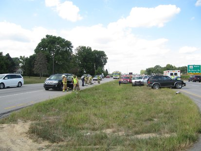 Accident pic 1 courtesy Vigo County Sheriffs Department