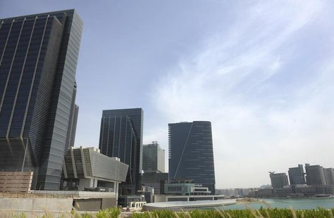 Buildings are seen at Sowwah Square on Marayah Island in Abu Dhabi's new central business district May 7, 2013. REUTERS/Ben Job