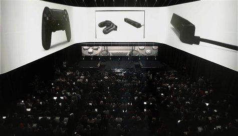 People attend the PlayStation 4 launch event in New York, February 20, 2013. REUTERS/Brendan McDermid