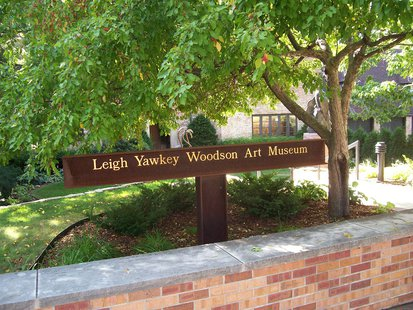 The sign for the Leigh Yawkey Woodson Art Museum in Wausau. (Photo by: www.lywam.org/Creative Commons).