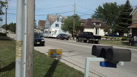 Police investigate suspicious death in Luxemburg on Sunday September 8, 2013. (Photo by: FOX 11).