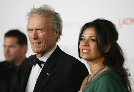 Honoree, actor and director Clint Eastwood (L) and wife Dina Eastwood arrive at the Los Angeles County Museum of Art (LACMA) Art + Film Gala