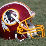 Washington Redskins helmet (Photo by: Keith Allison/Flickr/Creative Commons).