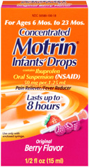 Infant Motrin